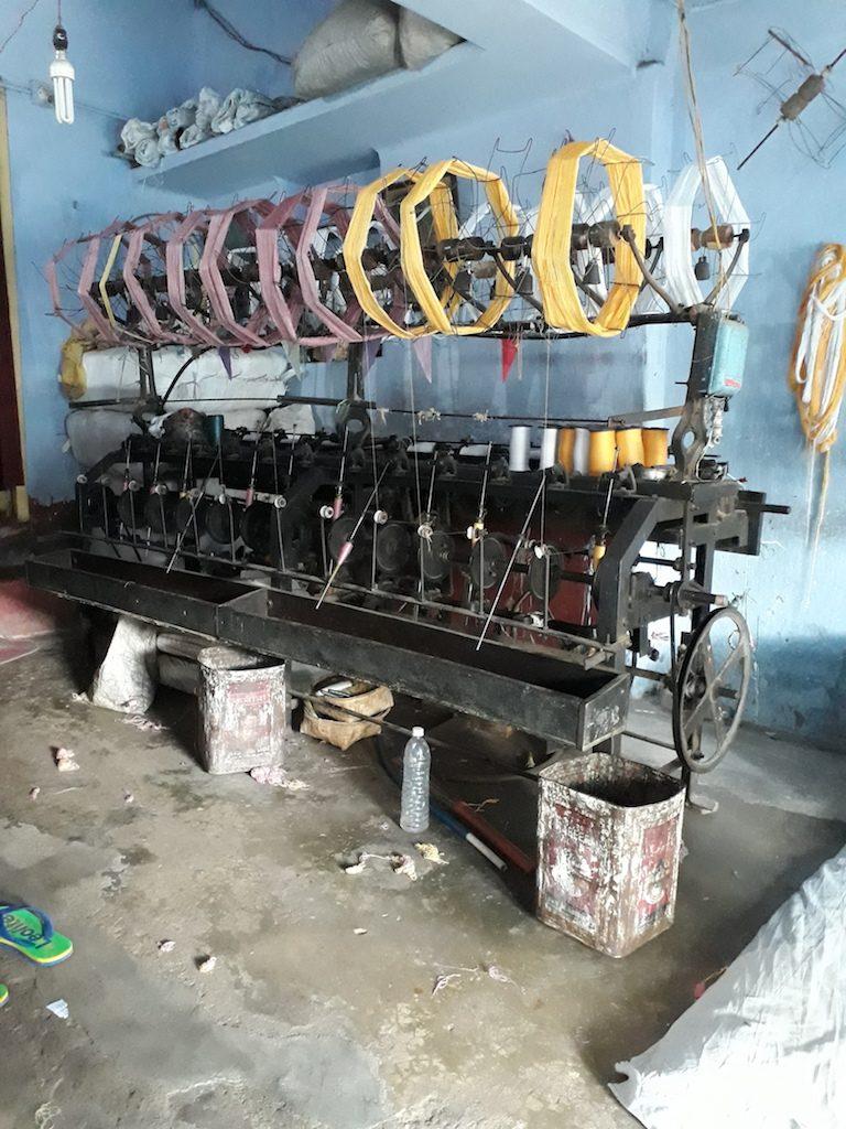 Weaving Process of Chadar
