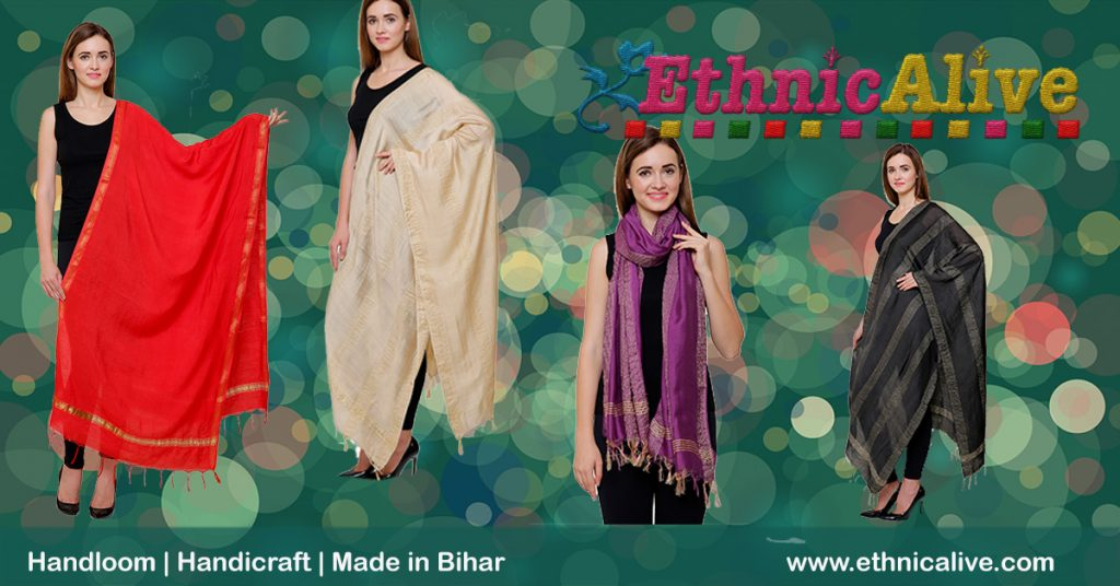 Bhagalpuri Dupatta on Amazon
