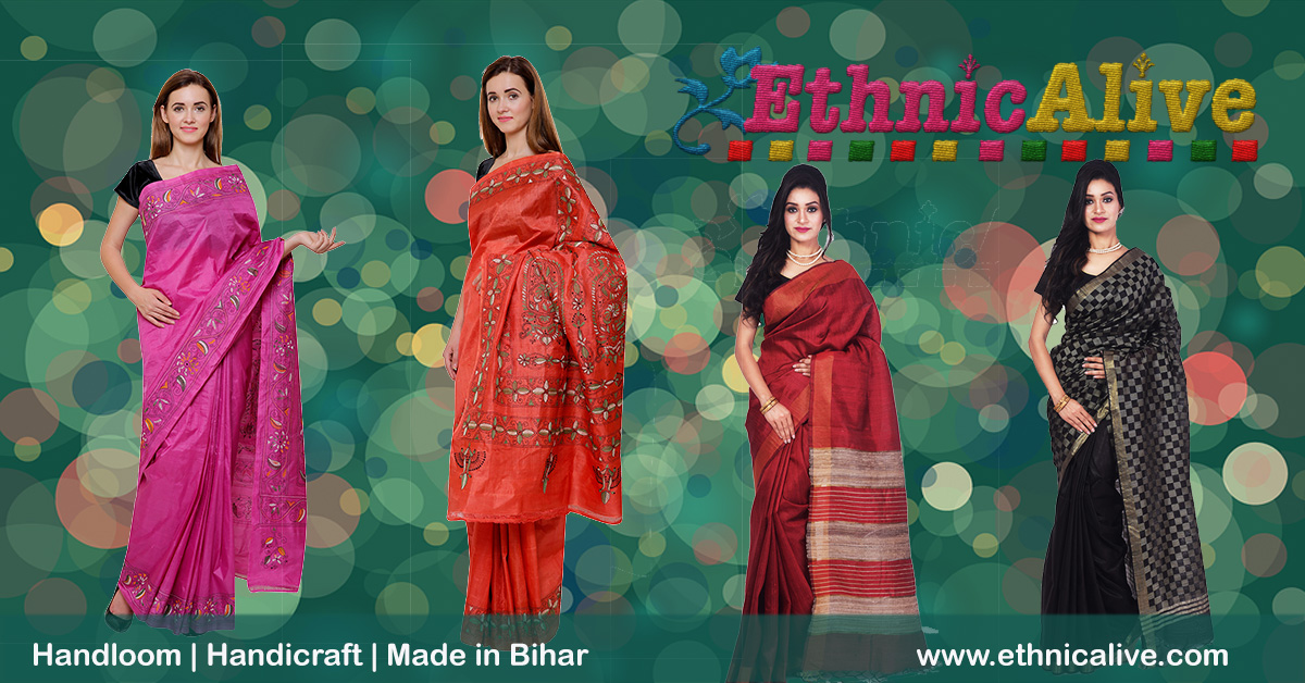 Bhagalpuri Saree on Amazon